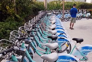 Urban public bike, rental management system of bike, public bike system, public bike rental system