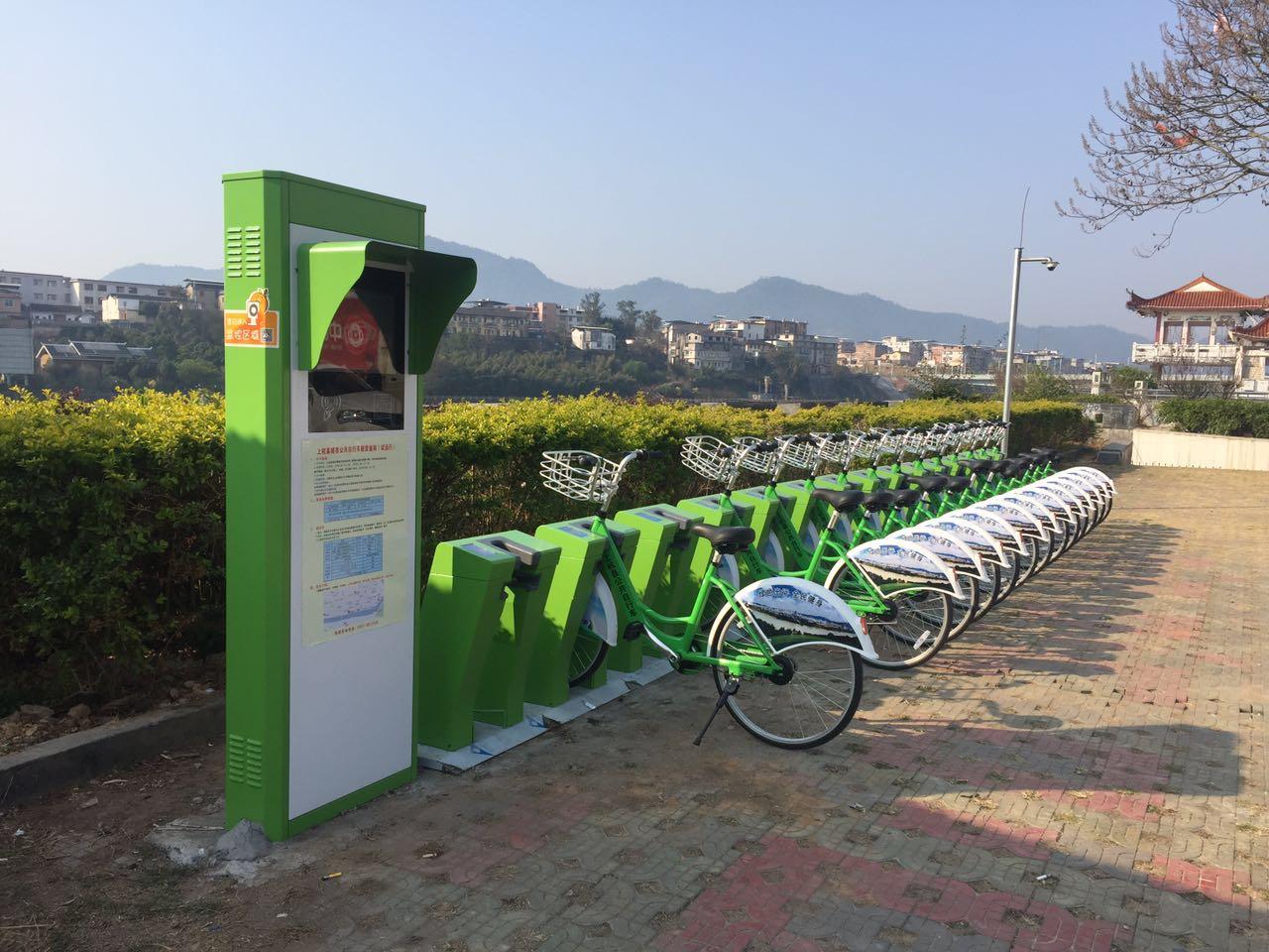福建省上杭县_公共自行车公司项目案例