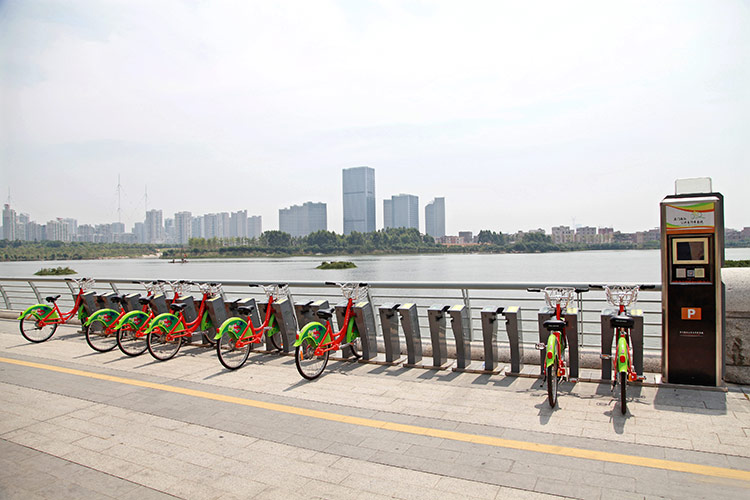 福建厦门 城市公共自行车系统项目
