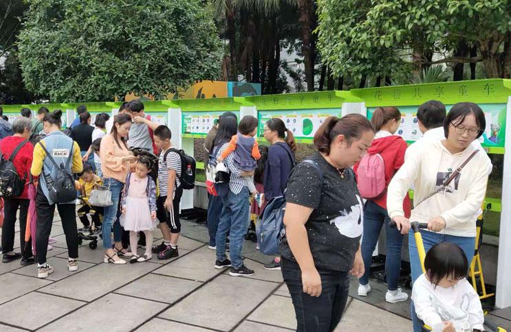 共享儿童推车入驻重庆市区