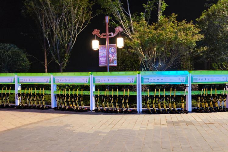 共享童车进驻重庆融创文旅成渝乐小镇
