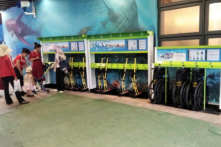 花粉共享童车\婴儿车\轮椅进驻恒大海花岛