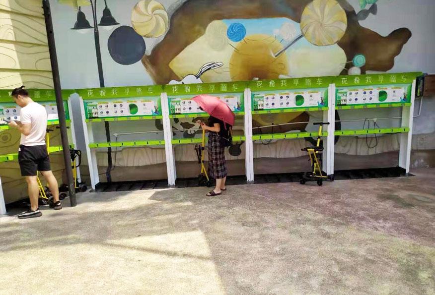 花粉共享童车进驻顺德史努比缤纷世界1.jpg