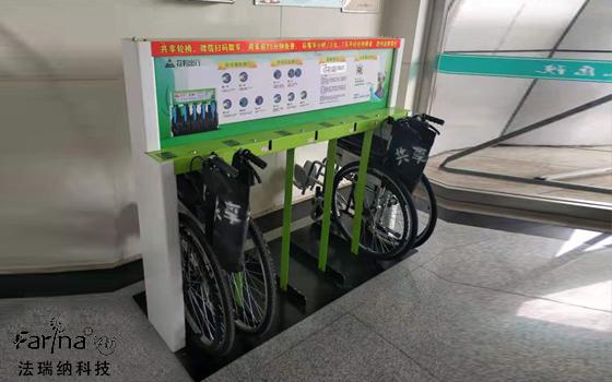 花粉共享轮椅,便民惠民契合医患双方需求
