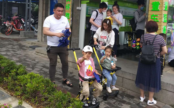 共享童车对家长及孩子的意义!