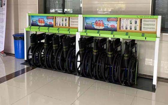 花粉共享轮椅进驻常州市新北区春江人民医院