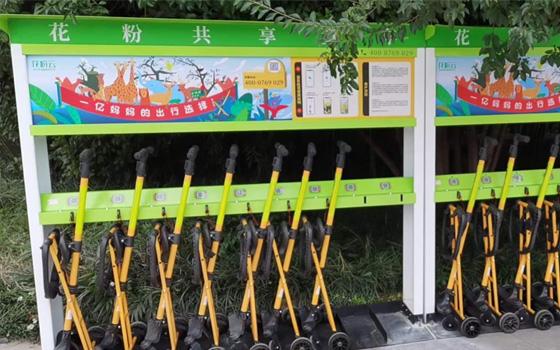 共享童车入驻山东聊城动物园